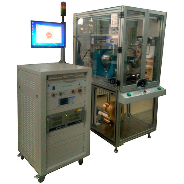 ECM Electric Motor Testing System , Low Noise DC Brushless Motor Test Bench