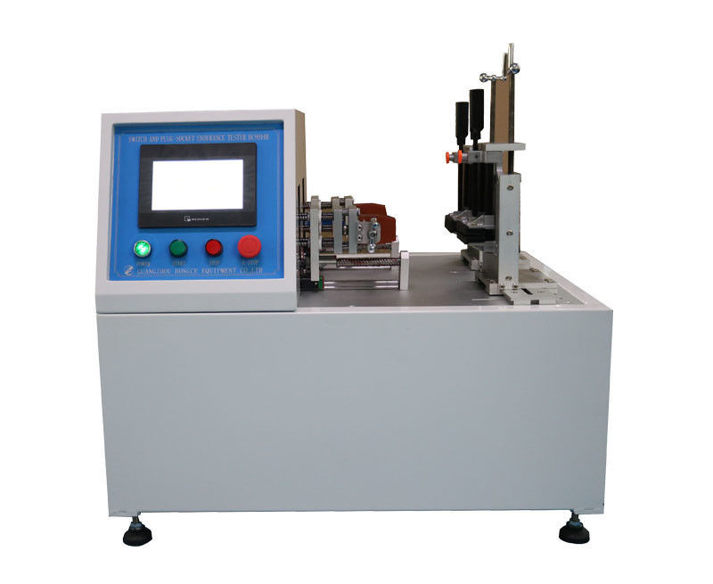 IEC60884-1 Plug Socket Tester , Switches Breaking Capacity And Normal Operation Life Test Apparatus